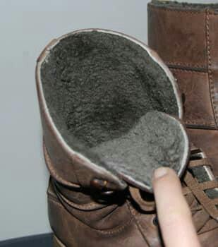 Очень теплые ботинки, б.у в хорошем состоянии, полностью натуралка