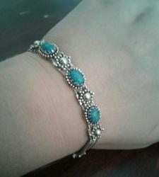 часы nardin оригинал в Кыргызстан: Браслет серебро. Камни берюза, оригинал. Камни проверили