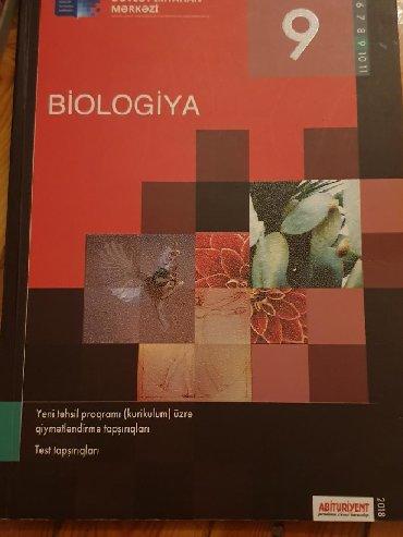 biologiya kitabi - Azərbaycan: Test kitabi biologiya . Tertemizdir