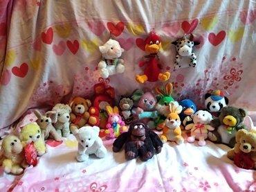 Мягкие игрушки все за 800  или каждая за в Лебединовка