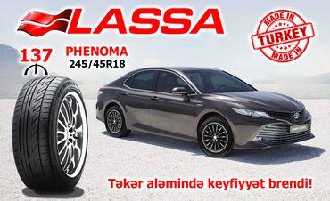 Lassa 245/45R18 PHENOMA 100W XL avtomobil təkəriQiyməti: 137 aznEn
