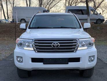 toyota япония в Кыргызстан: Toyota Land Cruiser 4.6 л. 2012 | 147000 км
