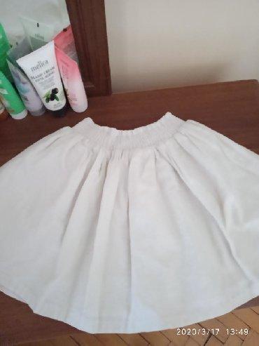 детская белая футболка в Азербайджан: Детская юбка на 3-4-5 лет