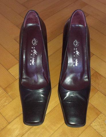 Kožne cipele na štiklu, dužina gazišta 26 cm, veoma udobne - Beograd
