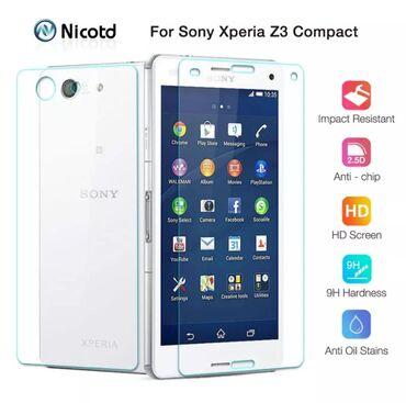 Новые защитные стёкла для Sony Xperia Z3 CompactНа переднюю и заднюю