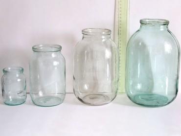 Кухонные принадлежности в Токмак: Стеклянные банки разных размеров