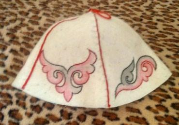 Банные шапки ручной работы из натурального войлока в Бишкек