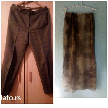 Vunene pantalone XL veličina + ešarpa 190 x 60cm. pojedinačno cena - Belgrade