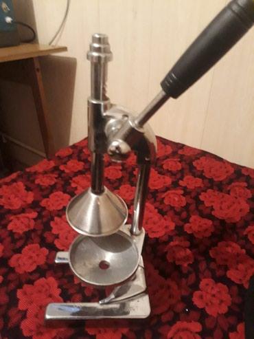 Срочно продаю ручную соковыжималку цена договорная  в Бишкек
