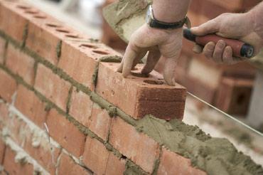 Кладка кирпич 5 сом пескаблок полистирол бетон пена блок в Бишкек