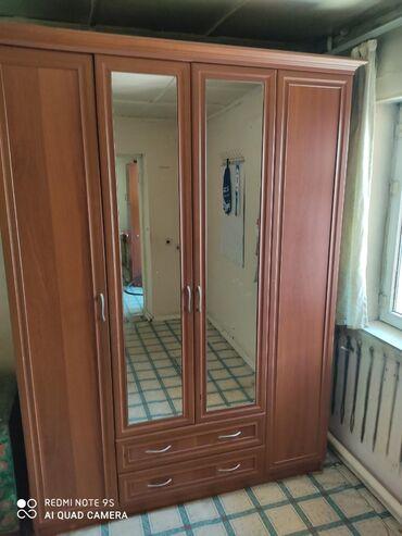 в Кыргызстан: Продаю шкаф и комп-й стол одного цвета состояние хорошее не сламанное