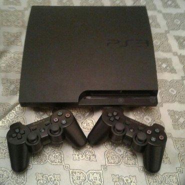 Bakı şəhərində Playstation 3 slim modeli..Donmasi , qizmasi yoxdu..Umimiyyetle hec