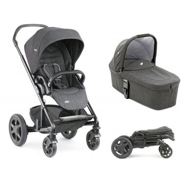 Продаётся коляска Joie Chrome DLX 2 в 1 (люлька коляски + прогулочный