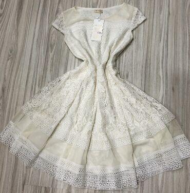 alt-koeynk-donlar - Azərbaycan: Белое платье- новое,размер S,40 азн.  Платье красное-новое,36 размер