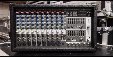 Электроника - Чон-Таш: Микшерный пульт (6 моновходов, 4 стереовхода, 9 микрофонных
