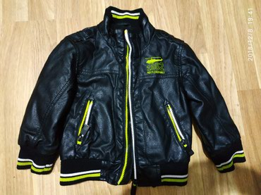 Bakı şəhərində Куртка б/у рост 92 см на 2-3 года Цвет черный