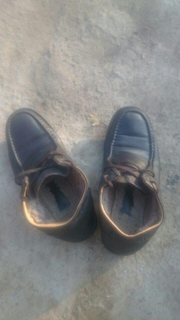 Зимний обувь кожаный  состояния очень хорошо    в Бишкек
