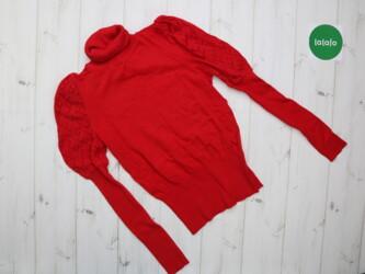 Теплый женский свитер     Длина: 54 см Рукава: 62 см Пог: 34 см Плечи