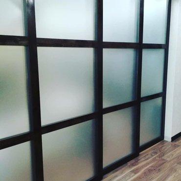 Изделия из стекла. перегородки в Бишкек