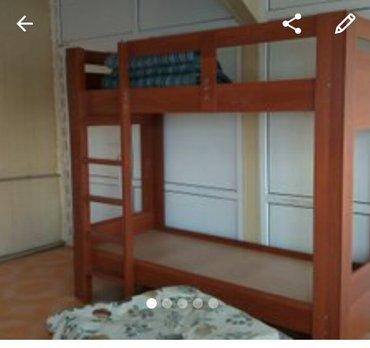 Продам кровать двухярусная новая. в хорошем состоянии 11000сом в Лебединовка