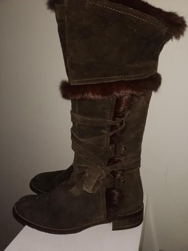 замшевые сапожки зимние в Кыргызстан: Женские сапоги 38