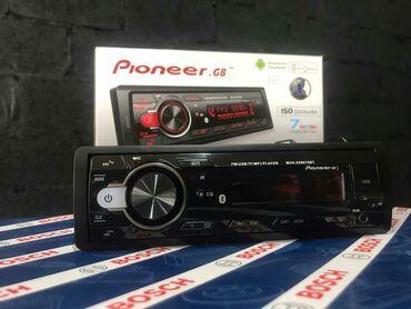pioneer 6050 в Кыргызстан: Магнитола pioneer mvh-x5807sbtbluetooth, aux usbsd cardподсветка