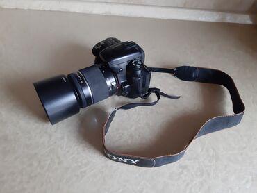 сенсорный фотоаппарат в Азербайджан: Fotoaparat Sony a500. Probeqi azdır. Şəkil çəkmək üçün knopkası