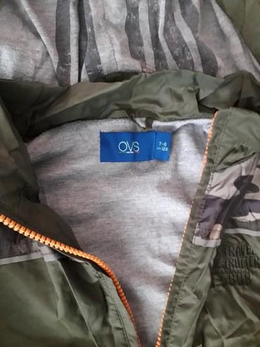 Jesenja jakna OVS za dečake. Veličina 128 cm. Dužina jakne  je 50 - Nis