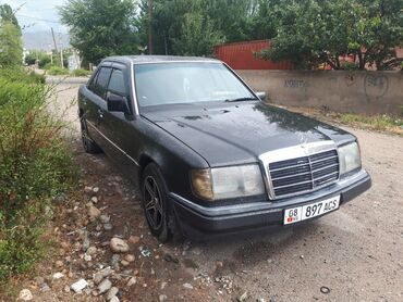 Транспорт - Кызыл-Суу: Mercedes-Benz W124 2 л. 1992 | 123456 км