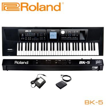 Синтезаторы - Бишкек: Синтезатор Один инструмент, один клавишник… С выпуском BK-5 Roland