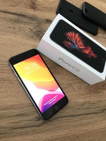 Apple Iphone - Azərbaycan: İşlənmiş iPhone 6s 16 GB Boz (Space Gray)