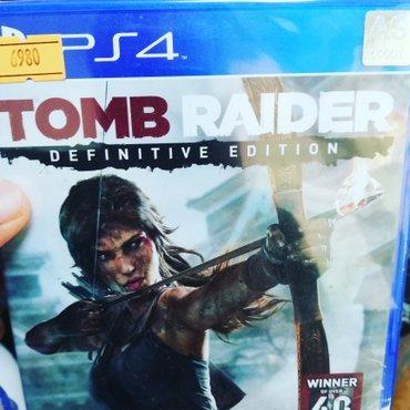Bakı şəhərində Tomb Raider definitive edition oyunu satılır