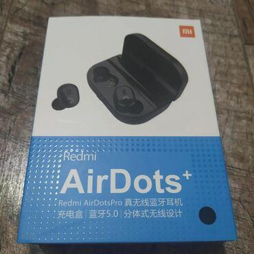 Наушники Airdots+Bluetooth с кейсом, который может заряжать и телефон
