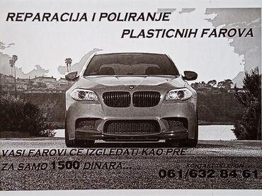 Polirka - Srbija: Poliranje farova /i vozila