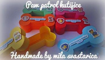 Paw patrol kutijice od kartona - Jagodina
