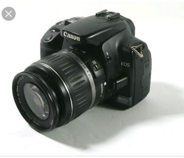 Продаю canon 400d с объективом canon 18-55. в Бишкек
