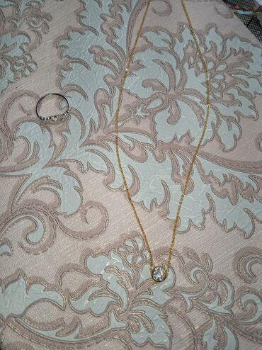 Кольцо серебряное 925 пробы,а цепочка бижутерия в подарок при покупке