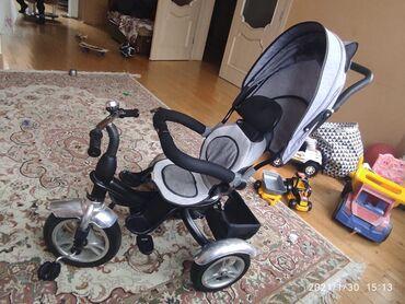 uşaqlar üçün uzunqol futbolkalar - Azərbaycan: Az işlənmiş velosiped. Oturacağı 380 dərəcə fırlanır, əl ilə idarə olu