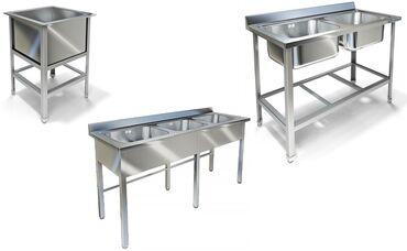 шкаф для посуды в Кыргызстан: Стеллажи, Шкафы, Мойки из нержавеющей стали.Металл Сервис кампания
