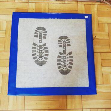 Дезинфекция для обуви, полик с карбомидом многоразовые