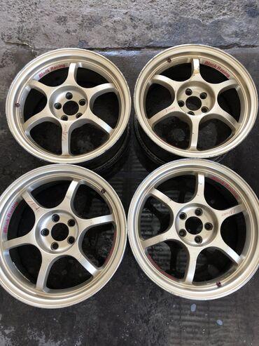 Продаю диски R17 на Subaru Advan Black Racing PRO N1 BREMBO ok 5*100 R