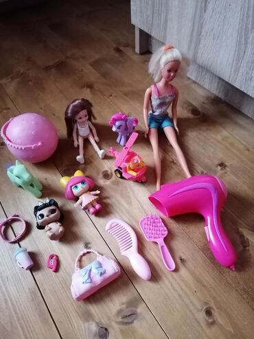 Igračke za devojcice odlicno ocuvane neke su jako kvalitetne