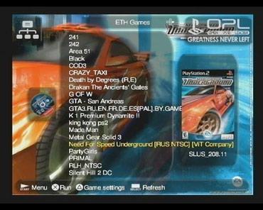 PlayStation 2 FAT + 10 Игр на флэшке. Игры через в Бишкек