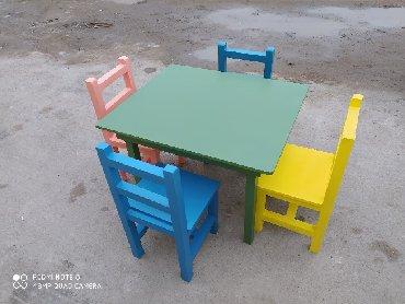 Baxca ucun stol stullarin hazirlanmasi isdeye uygun reng secimi ile в Bakı