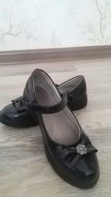 """Туфли для девочек 35 размер. Фирма """"Совенок"""" черные и темно синие. в Бишкек"""