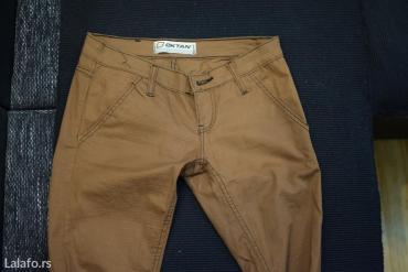 Rasprodaja!! Novo!!! Braon zenske pantalone,pazarske,duzina 113 - Pozega