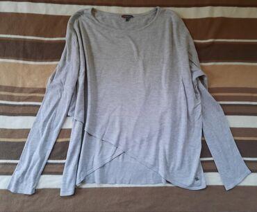 STREET ONE siva bluza oversized. Veličina M moze i S