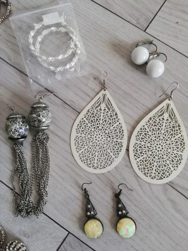 Set nakita, ogrlica, mindjuse - Sjenica
