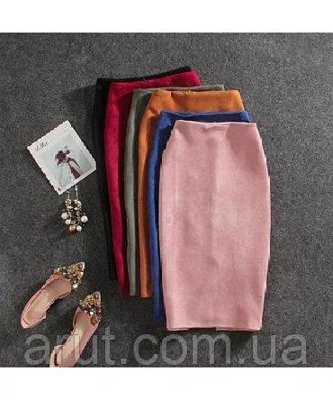 юбка карандаш на высокой посадке в Кыргызстан: Юбки 0101 Brand M