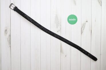 Аксессуары - Украина: Жіночий чорний пасок з фабричними потертостями    Довжина: 98 см Ширин